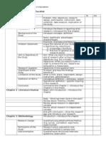 Laporan Kajian Checklist