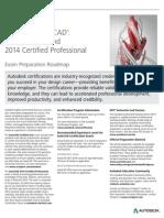 Autodesk Autocad 2014 Certification Exam Prep Roadmap Fall2013-Web