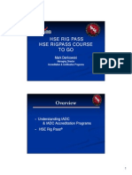 Bismarck Rig Pass Presentation