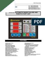 Dkg 307 User Manual