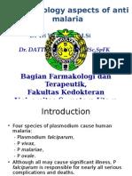 Pharmacology Aspect of Antimalaria_2009