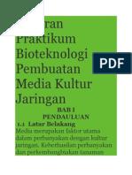 Laporan Praktikum Bioteknologi Pembuatan Media Kultur Jaringan