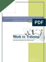 Curso Preparatório Concurso Professor de Inglês SEE/SP PEB II