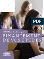 Couts Financements