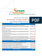 Xtream2014 Ieee Java .Net Titles
