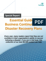 Disaster Recovery and Bus Continuity Guide