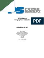 27 Atco Electric - Harmonic Study