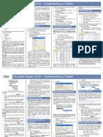 QRG - Project 2010 Implementation