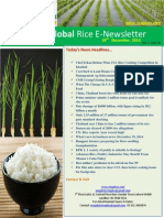 19th December,2014 Daily Global Rice E-Newsletter by Riceplus Magazine
