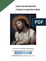 Hora Santa en Reparación al Ultraje Público de Jesús