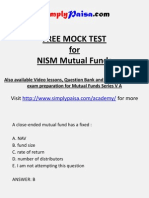 Mutual Fund NISM Mock test.pptx