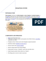 Study of Drip Irrigation System