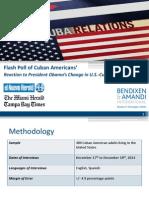 BendixenAndAmandi ElNuevoHerald TheMiamiHerald TampaBayTimes Cuban-American-Flash-Poll