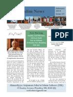 Muslim News 2014 No 19 February