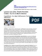 Piano Risanamento Aria Veneto Bocciato Relazione Europa 28 Settembre 20092009
