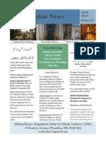 Muslim News 2014 No 21 01 April 2014