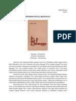 Sinopsis Novel Belenggu