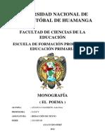 Monografia El Poema
