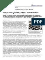 Página_12 __ Economía __ Menos Desiguales y Mejor Remunerados