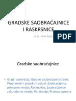 Gradske Saobraćajnice i Raskrsnice_pp