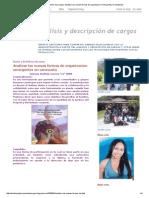 Análisis y Descripción de Cargos_ Analizar las nuevas formas de organizacion emergentes en venezuela.pdf