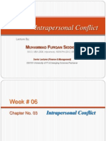 Week-06_Chapter 03_The Concept of Intrapersonal Conflict