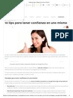 10 Tips Para Tener Confianza en Uno Mismo _ Pymex