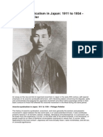 Anarcho-syndicalism in Japan