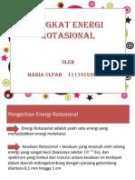 Ppt Fismod (tingkat energi rotasional)