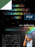 Casos de Negligencia de Enfermeria en El Perú-legal