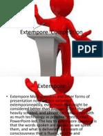 Extempore Competition