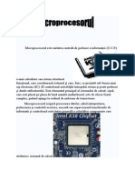 Atestat  microprocesor