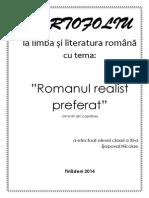 Romanul Realist Preferat