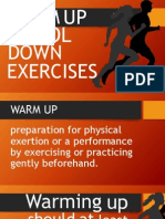 Warm Up and Coold Down