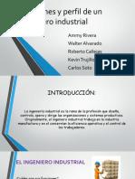 Funciones de Un Ingeniero Industrial Diapositivas
