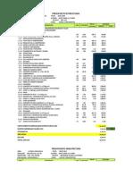 Proyecto de Costos y Presupuestos