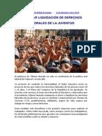 En Defensa de Los Derechos Laborales de La Juventud Trabajadora