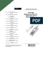 Manual HI 9126