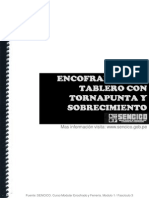 Encofrado y Fierreria 02-Encofrado Sobrecimiento Total