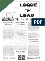 Loque & Load Issue 1 Nov 1999 for Flintloque