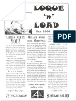 Loque & Load Issue 2 Feb 2000 for Flintloque
