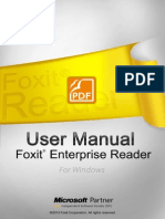 FoxitEnterpriseReader60 Manual