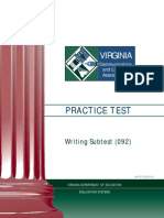 VCLA Writing PracticeTest