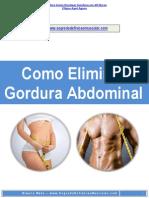 E-book Como Detonar Gordura Abdominal