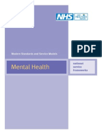 National Service Framework for Mental Health
