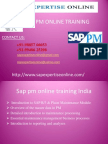Sap Pm Online Training Classes