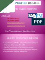Sap Pm Online Training Classes