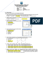 Soal Tik Kelas Xii 2014 (Paket a)