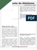 Jornal Do Atletismo 2010