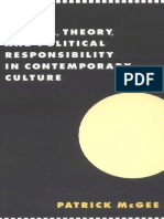 (Literature, Culture, Theory) Patrick McGee-Cinema, Theory, And Political Responsibility in Contemporary Culture (Literature, Culture, Theory) -Cambridge University Press (1997)